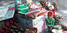 These nostalgic little treats are sitting in the tin waiting to adorn our christmas trees.