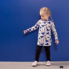 PaaPii Design VIENO tunic, Bluebell Tunic, Sweatpants, Black And White, Pink, Blue, Shirts, Design, Tunics, Black N White