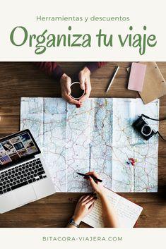 Todas las herramientas que necesitas para organizar tu viaje de la mejor manera. Sí, ¡también hay descuentos!