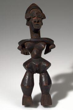 AZANDE Female Figure, Dem. Rep. CONGO