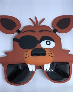 3224f40f519 Details about Five Nights At Freddy s Foxy Novelty Sunglasses