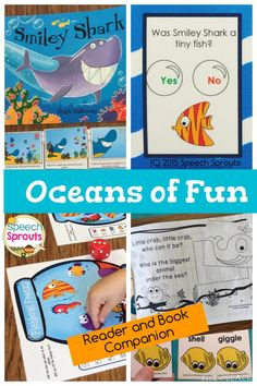 $ Deep-sea Bundle! An Ocean Reader focusing on Who? Questions and Smiley Shark Book Companion.