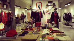 #ottodAme #FW15 #Firenze #store #xmas #red