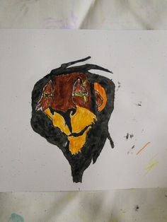 My drawing of Scar from The Lion King. Surprisingly good I think!
