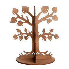 Schmuckbaum Leafy Dream Braun, now featured on Fab. Jewelry Tree, Jewelry Stand, Wooden Jewelry, Earing Holder, Wood Crafts, Paper Crafts, Router Projects, Bat Mitzvah Gifts, Laser Art