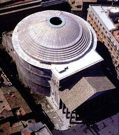 Pantheon / Rome: Con diferencia la obra mejor diseñada y ejecutada de todos los tiempos.
