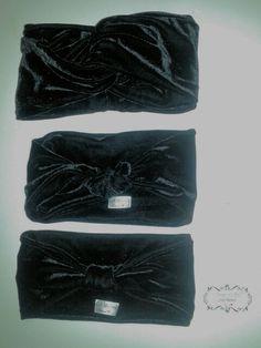 Turbantes em plush #inverno #turbantes # boho.