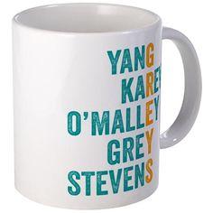 Greys Anatomy Vertical. Mugs