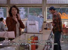 Shopping Motto | Gilmore Girls