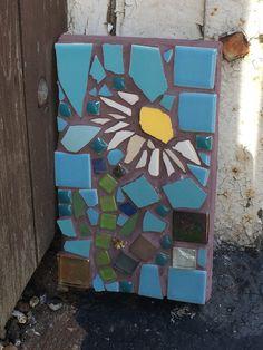 Daisy Daisy Mosaic Garden Mosaic unique gift home or