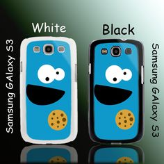 Funny Cookie Monster Samsung Galaxy S3 Case Cover