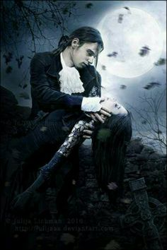 "Gothic Vampire. ""Don't worry my love. And soon you will always be with me"""