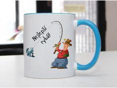 Hrnek Rybář - POTISKNUTO Pavlova, Mugs, Tableware, Dinnerware, Tumblers, Tablewares, Mug, Dishes, Place Settings