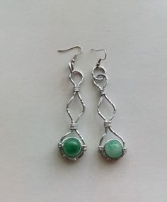 Jade Earrings---TRJ