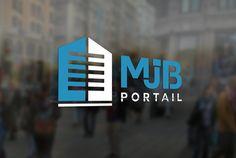 Logotype MJB PORTAIL // Sofia Doudine Graphiste Webdesigner B2B Freelance