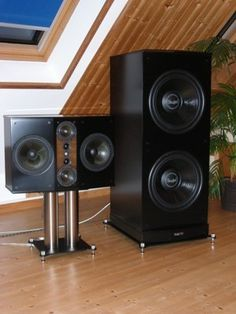 Teufel Heimkino Boxenständer Pro Audio Speakers, Floor Speakers, High End Speakers, Floor Standing Speakers, Best Speakers, Monitor Speakers, Hifi Audio, Diy Subwoofer, Sonos