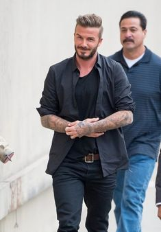 David Beckham Photos - David Beckham is seen at 'Jimmy Kimmel Live.' - David Beckham Visits 'Jimmy Kimmel Live!'