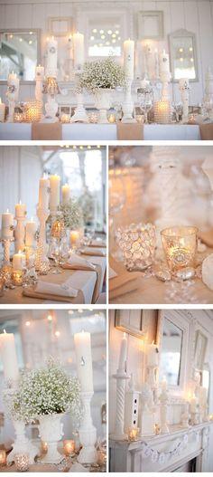Winterhochzeit 6, Winter Hochzeitsdekoration