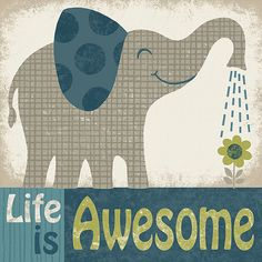 Elephant by pictorialboom on Etsy