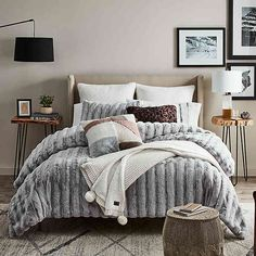 Enhance your sleep space in sumptuous comfort with the Wilder Comforter Set from UGG. Full/Queen comforter set includes W x L comforter. Bed Comforter Sets, Comforters, Queen Bedding Sets, Bedspreads, King Duvet Cover Sets, Duvet Covers Queen, Panel, Modern Room, Contemporary Bedroom