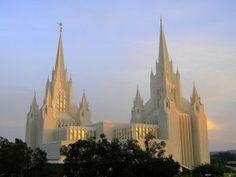 Photograph of the San Diego California Mormon Temple