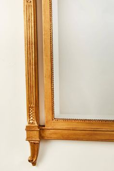 Hand-Carved Italian Mirror | From a unique collection of antique and modern wall mirrors at https://www.1stdibs.com/furniture/mirrors/wall-mirrors/