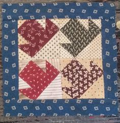 #24: Block 23 of Everyday Patchwork QAL by quiltsbycheri