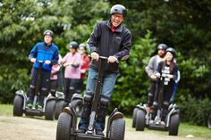 Whiz round a challenging rally circuit on an amazing upright scooter with this Segway experience