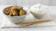 Delicious slow-cooked beef rendang