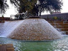 Fountain at the Tower of Americas, San Antonio, TX