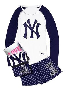 NY Yankees lounge clothes from Pink. 3a29602ad42f