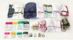 Travel Bag Set (23pcs)