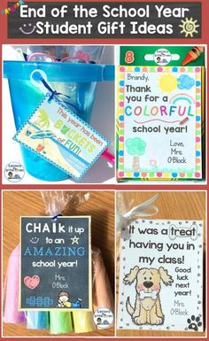 end of the school year student gifts
