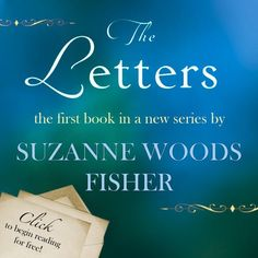 Suzanne Woods Fisher - The Letters pinned with Pinvolve - pinvolve.co   favorite author of Amish fiction