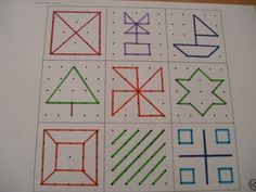 geoboard picture cards
