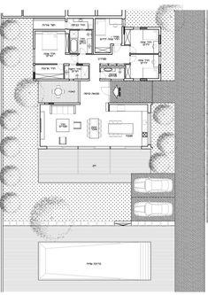 גבולות ברורים: עיצוב בית מודרני בכרכור | בניין ודיור
