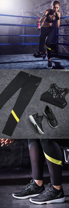 Fashion meets function. Look good in the latest from Reebok Women. Shop the outfit.