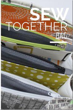 Sew Together Bag Reel Time, Zen Chic