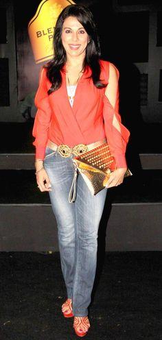 Pooja Bedi at 'Blender's Pride Fashion Tour 2013' #Page3 #Fashion #Style #Beauty