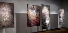 Lia Cook Exhibition at M. Zilinskas Gallery, Kaunas Lithuania, 2011