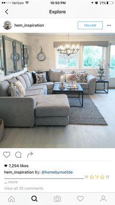 The Best 2019 Interior Design Trends - Interior Design Ideas Elegant Living Room, Living Room Grey, Home Living Room, Interior Design Living Room, Living Room Designs, Living Room Decor, Living Room Inspiration, Home Decor, Future