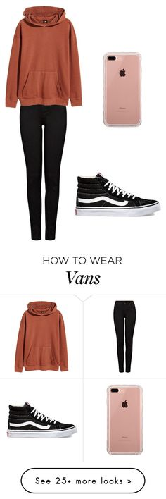 """spring/summer"" by kerlyannelynce on Polyvore featuring J Brand, H&M, Vans and Belkin"