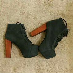 Jeffrey Campbell - Lita Distressed Boots σε 4 χρώματα! Θα τα βρεις εδώ http://mikk.ro/Zsa  #jeffreycampbell #amazingshoes #fashionshoes #boots