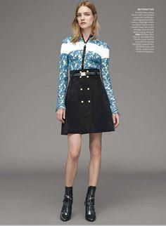 Vogue US Dec 2014 | Natalia Vodianova by Karim Sadli Louis Vuitton