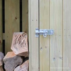 Tall Garden Store with Log Store (5ft wide) - view 7