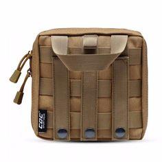 Tactical Molle Pouch Belt Waist Pack Bag Military Waist Pack Phone Lot O199  EC  fashion 86038ccd0b15b