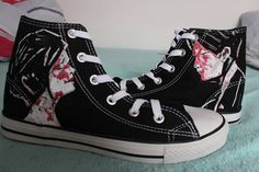 My Chemical Romance Shoes by ShadowMoses on Etsy