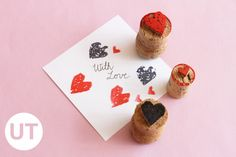 DIY Heart Stamps | Upcycle That