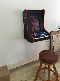Wall mount arcade
