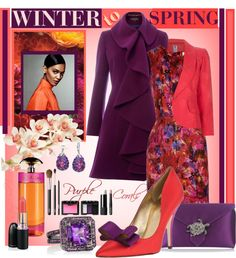 """WINTER To SPRING: Polyvore Contest"" by enjoyzworld ❤ liked on Polyvore"